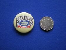 Flambards Theme Park - Helson, Cornwall  pin badge - 1980s