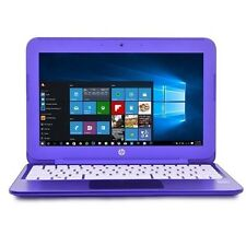"New HP 11.6"" Laptop 2GB RAM,32GB SSD,Windows 10,Bluetooth,Office 365,HDMI,Purple"