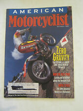 December 1997 American Motorcyclist Magazine, Zero Gravity  (BD-28)