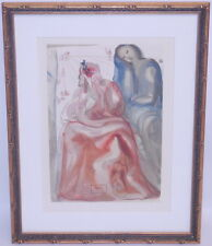 Salvador Dali Woodblock Print Dante's Divine Comedy #31 Purgatory German Ed.