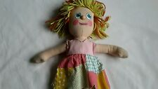 Rag Doll from 'The Raggy Dolls' Yorkshire TV programme 1986.
