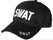 FANCY DRESS PARTY POLICE ACCESSORY SWAT STYLE BASEBALL CAP BOOK WEEK HAT STAG