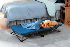 Portable Folding Chair Bed Sleeping Cot Kids Toddler Foldable Camping Campware