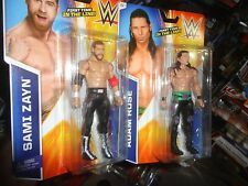 WWE SAMI ZAYN AND ADAM ROSE, FIRST TIME IN LINE, NEVER OPENED