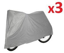 3 X Universale Impermeabile Cycle Bicicletta Bici COVER resistente alla pioggia impermeabile