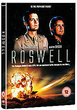 ROSWELL THE MOVIE FILM DVD UFO Science Fiction Martin Sheen New UK Release R2