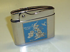 "ROWENTA SNIP LIGHTER - LACQUER ""BRITISH ISLES"" AIRPLANE - 1954-1964 - GERMANY"