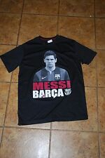 Lionel Messi Barcelona FB Club Adult Small T-shirt