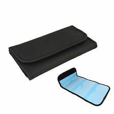 Black UV CPL 6 Pockets Filter Lens Case Bag Pouch