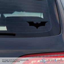 Batman Car Window Decal Vinyl Sticker DC Black