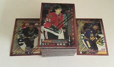 1995-96 Topps Finest Bronze Hockey 110 Card Set Nr/Mt-Mt