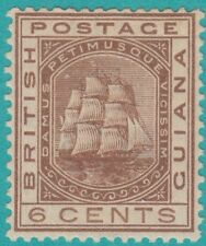 BRITISH GUIANA 110 NO FAULTS MINT HINGED OG  EXTRA FINE !