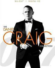 007 The Daniel Craig Collection Blu-ray Skyfall Casino Royale Quantum Solace NEW