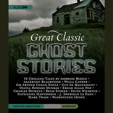 Great Classic Ghost Stories by  various authors CD 2011 Unabridged