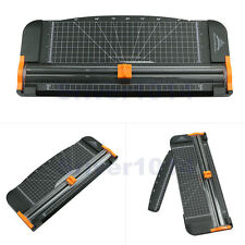 1pc New Black-Orange Jielisi 909-5 A4 Guillotine Ruler Paper Cutter Trimmer