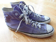 Vintage Converse Chuck Taylor Shoes Size 10 Made in USA Purple Chucks 70s 80s