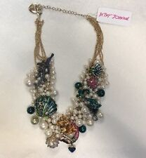 Betsey Johnson New Mermaid Necklace