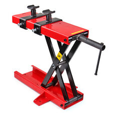 Mini Scissor Lift Jack 1100 LB ATV Motorcycle Dirt Bike Scooter Crank Stand
