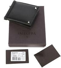 NEW VALENTINO GARAVANI MEN'S ROCKSTUD MONEY CLIP CC ID CASE BIFOLD WALLET