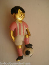 BROCHE VINTAGE JOUEUR DE FOOTBALL * Collection Privée *