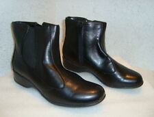 Hush Puppies Womens NWOB Ukase Ankle Black Boots Shoes 5.5 MED NEW