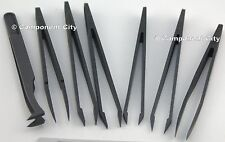 7pc Anti-Static Tweezer Rework Set easy to grip very sensitive and strong