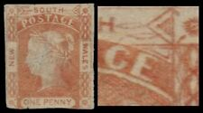 "NEW SOUTH WALES 13e (SG48b) - Queen Victoria ""2 Leaves at Right"" (pa51487)"