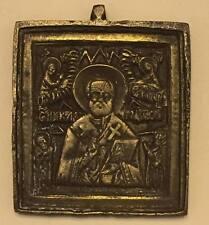 Bronzo Russa Icona santo nikolhaus 19. secolo, pareri I. bentchev