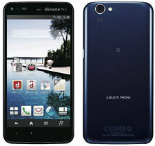 SHARP AQUOS ZETA SH-01F GSM UNLOCKED 32GB 16.3MP WATERPROOF ANDROID Blue