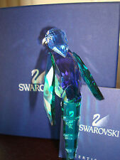 Swarovski Crystal Paradise Baracoa Bird MINT NEW 275578 RARE RETIRED Parrot