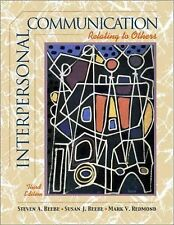 Interpersonal Communication: Relating to Others (Book Alone)