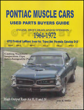 Trans Am and Firebird Parts ID and Interchange Book 1967 1968 1969 1970 1971 72