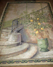 Lemon Stairwell Crafters Grande Tapestry Wall Hanging Fabric Remnant