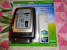 Acu-Rite  Weather Forecaster With What-to-Wear Character **Free Shipping**