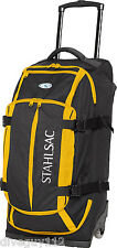 Stahlsac Curacao Clipper Pack Wheeled Scuba Diving Roller Travel Gear Bag Yellow