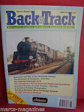 BACK TRACK RAILWAY JOURNAL JUNE 1995 RAILWAYS & WAR VICTORIAN PHOTOGRAPHER