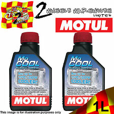 2x MOTUL MO COOL MOCOOL RADIATOR ADDITIVE ENGINE SUMMER COOLANT CAR MOTOR BIKE