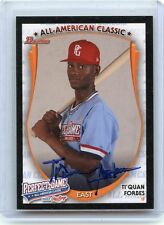 """2013 BOWMAN RAWLINGS PERFECT GAME #PG-TF TI'QUAN FORBES """"AFLAC"""" AUTOGRAPH RC (A)"""