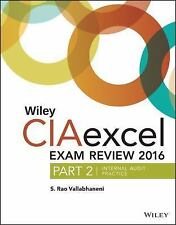 Wiley CIA Exam Review: Wiley CIAexcel Exam Review 2016 : Part 2, Internal...