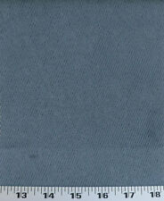 Drapery Upholstery Fabric Corduroy Textured Cloth Backed Suede - Ink Blue