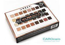 Lorac Mega Pro Palette 3 Lidschatten Palette Eye Shadow Los Angeles 32 Farben