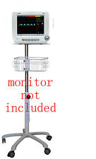 Rolling Roll  stand for comen c50 c60 c80 patient monitor (small wheel)