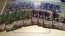 Cardfight Vanguard Japanese Aqua Force TD04 Holo Lot