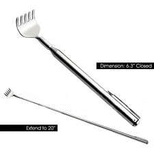 Hot Sale 1pcs Modish Back Scratcher Telescopic / Extendable Stainless Steel New