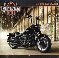 HARLEY-DAVIDSON Motor Cycles - 2017 Mini Calendar by Dateworks