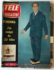 TELE MAGAZINE du 10/1960; Tchernia/ Max-Pol Fouchet/ Ludmila Tcherina