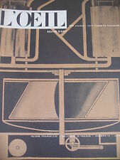 REVUE ART L'OEIL N° 18 de 1956 LE STYLE AMERICAIN PICABIA L INVENTEUR RIOPELLE