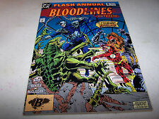 SIGNED MARK WAID FLASH ANNUAL #6 BLOODLINES DC COMICS 1ST APPEARANCE ARGUS