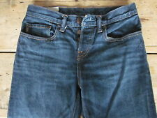 """ABERCROMBIE & FITCH JEANS (28/29x30) 100% COTTON """"CLASSIC STRAIGHT"""" BUTTON-FLY -"""