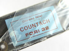 Nisi Countach Rim Set 700C Tubular 32 Hole Eyelets 2 Rims Vintage Bicycle NOS